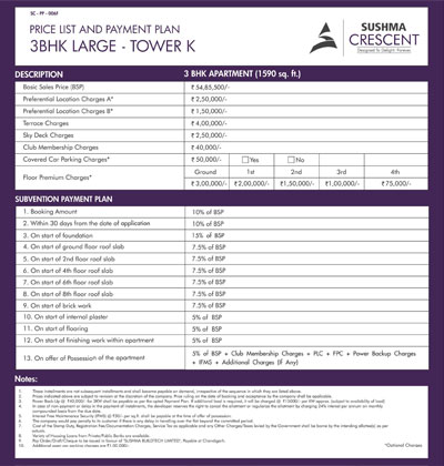 3BHK Large Tower K
