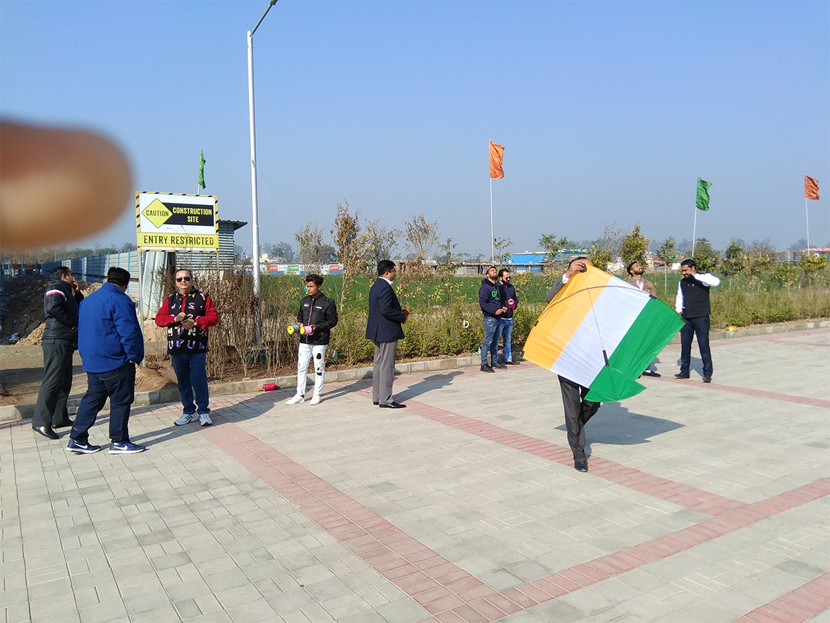 Kite Flying - Republic Day (January 2018)