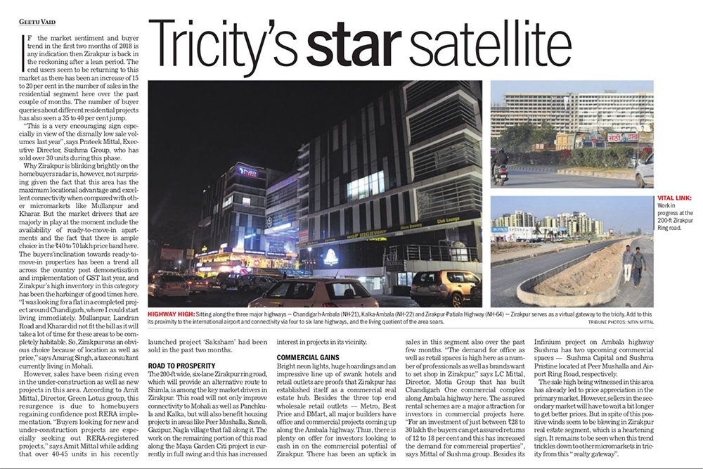 TRICITY'S STAR SATELLITE